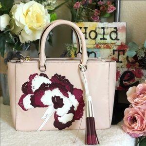 Tory Burch Robinson Floral Appliqué